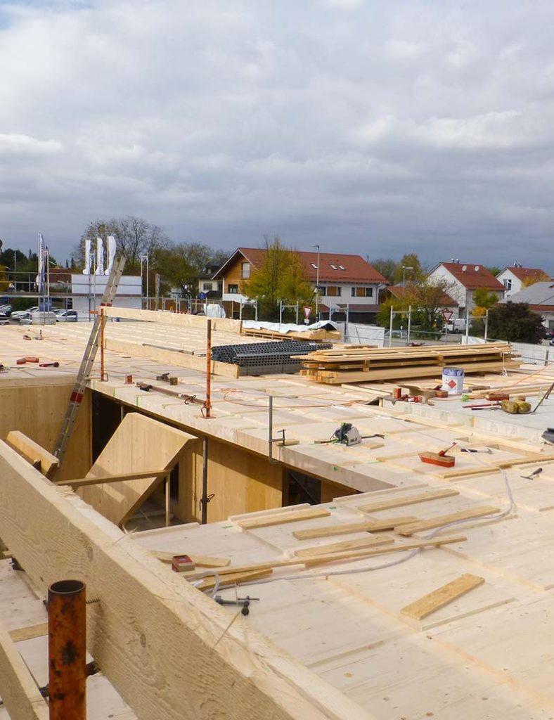 Baustelle Landsham