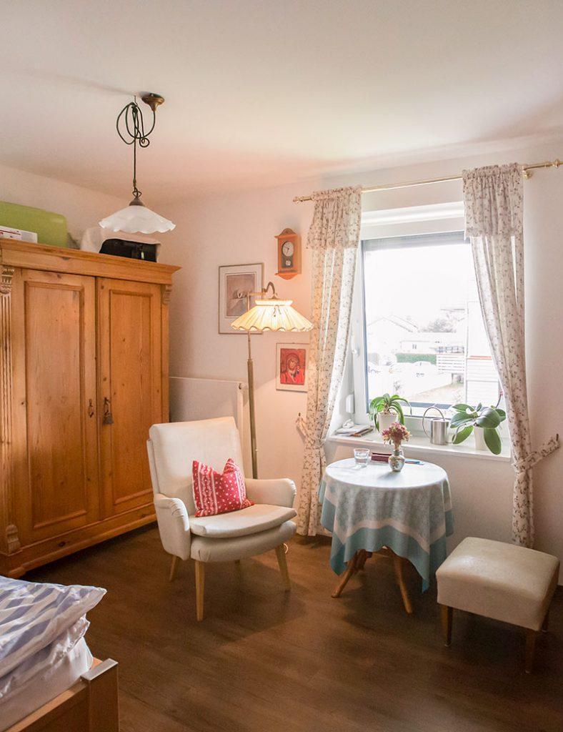 Bewohnerzimmer in der Demenz-WG in Weilheim.