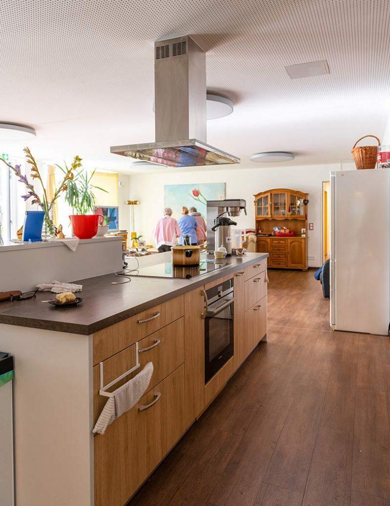 Gemeinschaftsküche der Demenz-Wohngemeinschaft Oberhaching