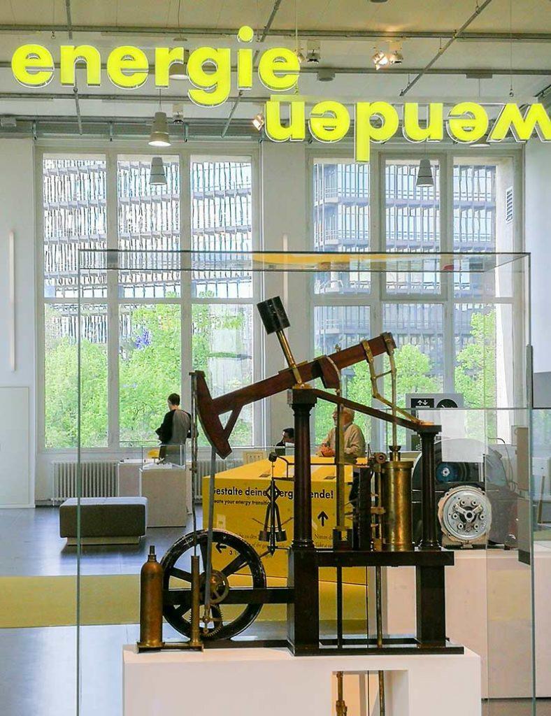 Deutsches Museum München mit dem Thema Energie Wenden.
