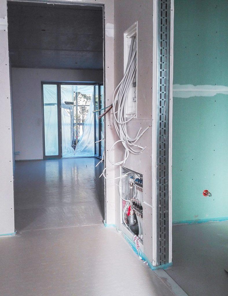 Innenansicht Baustelle Prien