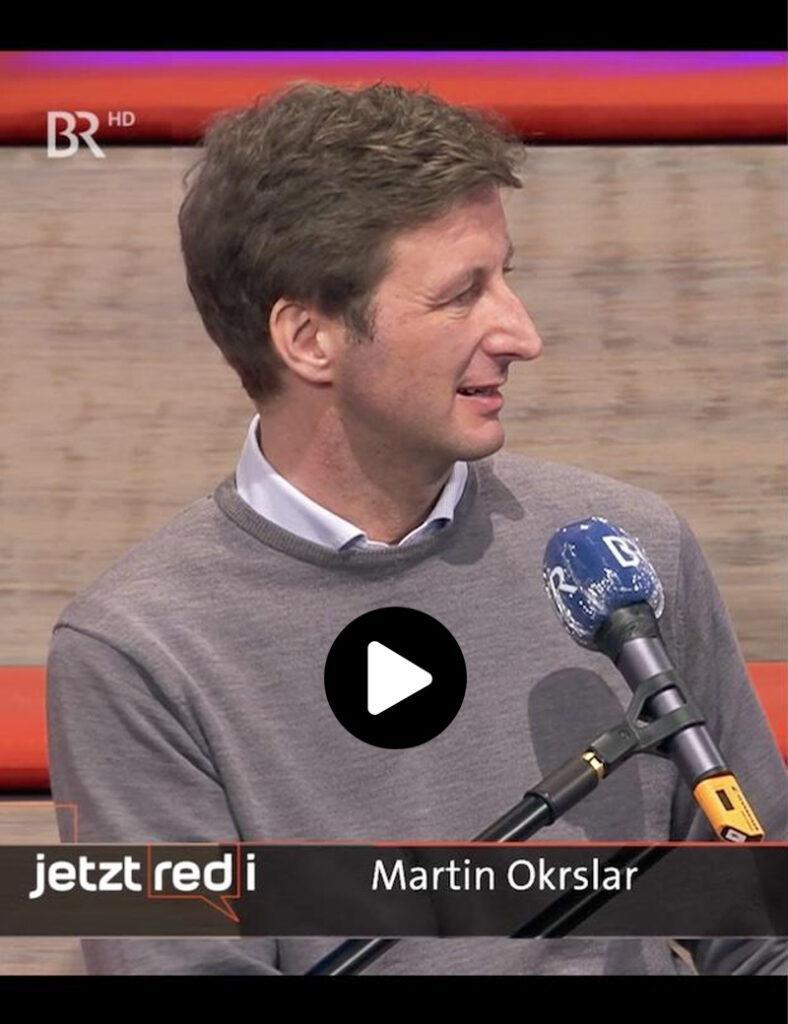 Vorstand Okrslar im BR Fernsehen.